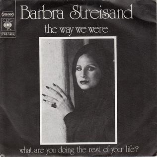 Resultado de imagen de Barbra Streisand - The Way We Were single