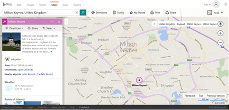 bing maps wikipedia