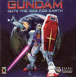 <i>Gundam 0079: The War for Earth</i> 1997 interactive movie video game