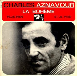 1965 single by Charles Aznavour