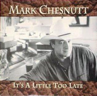 Its a Little Too Late (Mark Chesnutt song)