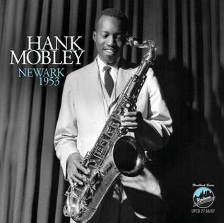 <i>Newark 1953</i> 2012 live album by Hank Mobley