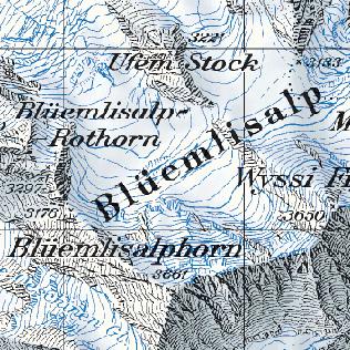 Cartography of Switzerland