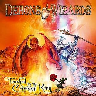 Demons & Wizards  -Touched by the Crimson King