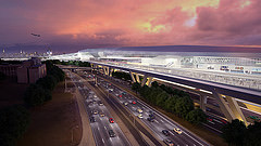 AirTrain LaGuardia Proposed people mover system at LaGuardia Airport in New York City