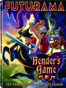 Poster du film Futurama: Bender's Game en streaming VF