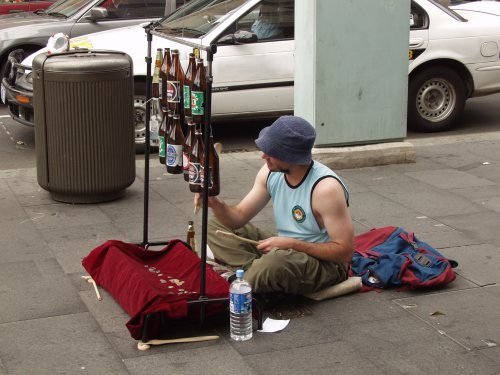 how to make money busking