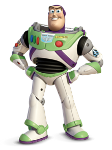 Buzz Lightyear Toy Story character