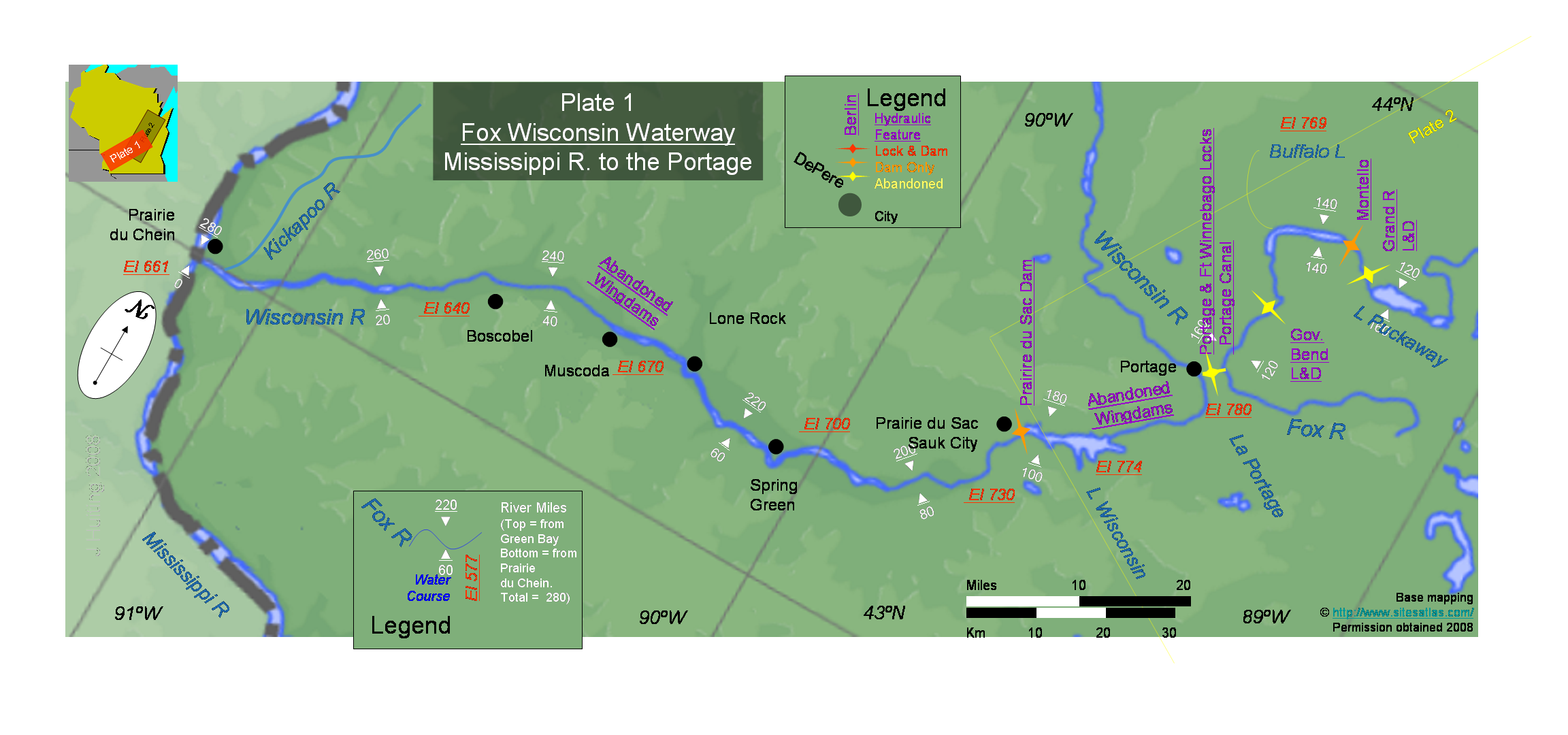 FoxWisconsin Waterway  Wikipedia