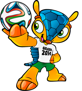 Fuleco, the official mascot of the 2014 FIFA World Cup Fuleco.png