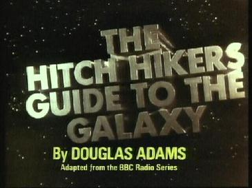 Picture of a TV show: The Hitch Hikers Guide To The Galaxy