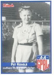 Merle Keagle All-American Girls Professional Baseball League player