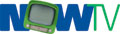 """The original logo used by CHNU, NOWTV, was used from the station's launch in 2001 until 2005. A television set replaced the """"O"""".[1]"""