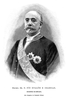 Gullón Iglesias, Pío (1835-1917)