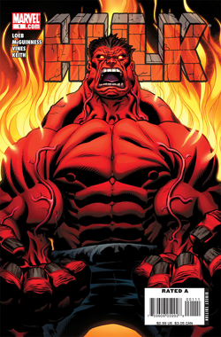 Red Hulk as seen on the cover of Hulk vol. 2 #1 (January 2008). Art by Ed McGuinness. Redhulk.png