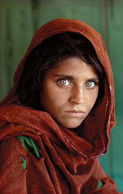 """Afghan Girl"" by Steve McCurry"