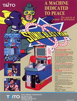 Sonic Blast Man (Arcade)