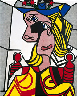 Woman with Flowered Hat-Lichtenstein.png