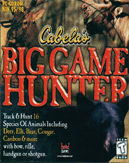 """Cabela's Big Game Hunter"" Cover Art"
