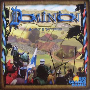 Picture of a game: Dominion