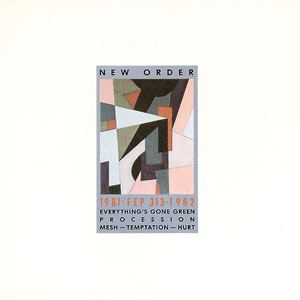 New Order - 1981-1982 ep cover