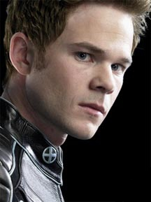 Bobby Drake as portrayed by Shawn Ashmore in X...