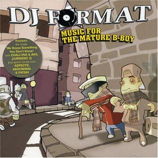 <i>Music for the Mature B-Boy</i> 2003 studio album by DJ Format