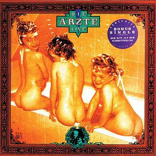 <i>Live – Nach uns die Sintflut</i> 1988 live album by Die Ärzte