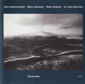 <i>November</i> (album) 1993 studio album by John Abercrombie