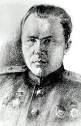 Maj. Gen. Aleksandr Yakovlevich Kiselyov, Hero of the Soviet Union