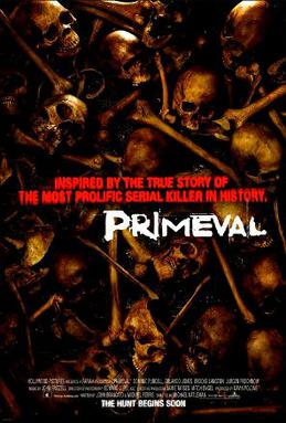 Primeval (2007) movie poster