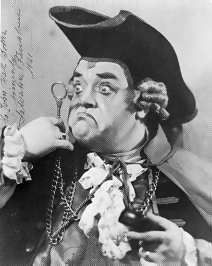 Salvatore Baccaloni Italian opera singer