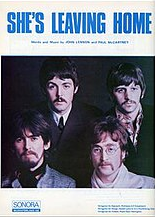 Shes Leaving Home original song written and composed by Lennon-McCartney