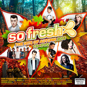 <i>So Fresh: The Hits of Autumn 2015</i> 2015 compilation album by Various Artists