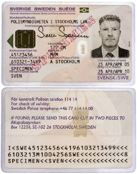 Identity Documents In Sweden