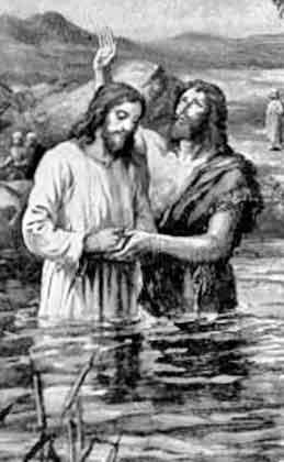 Baptism Christ immersion