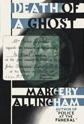 <i>Death of a Ghost</i> novel by Margery Allingham