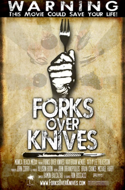 FORKS OVER KNIVES -- one of the the BEST food documentaries and healthy snacks you can make to enjoy along with it!