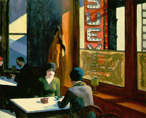 edward hopper cafe