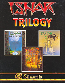 Cover art for the compilation edition containing all three games of