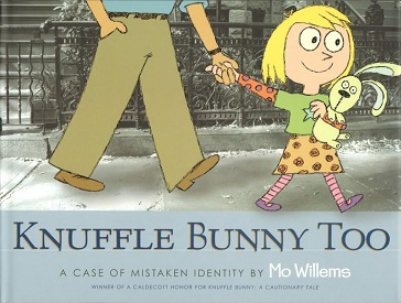<i>Knuffle Bunny Too</i> book by Mo Willems