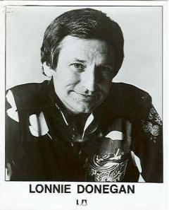 Lonnie Donegan Scottish-born skiffle musician