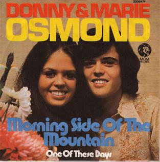 Morning Side of the Mountain 1959 song performed by Tommy Edwards