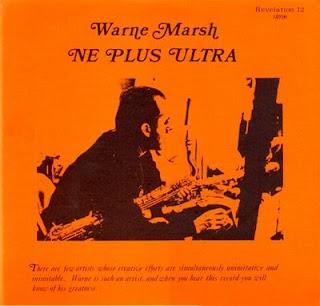 <i>Ne Plus Ultra</i> 1970 studio album by Warne Marsh
