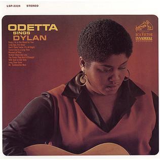 <i>Odetta Sings Dylan</i> 1965 studio album by Odetta