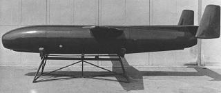 Radioplane Q-1 high-speed target drone, U.S. Air Force, 1950
