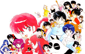 Ranma ½ Japanese anime wallpaper