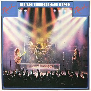 <i>Rush Through Time</i> 1979 compilation album by Rush