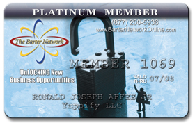 The Barter Network Member Card