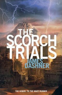 Image result for the scorch trials book cover